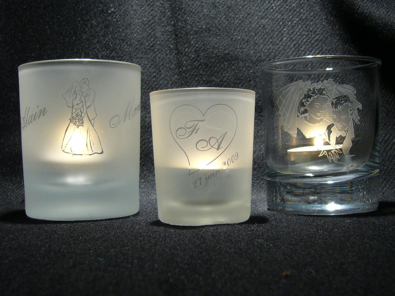 cadeaux mariage graveur sur verre. Black Bedroom Furniture Sets. Home Design Ideas