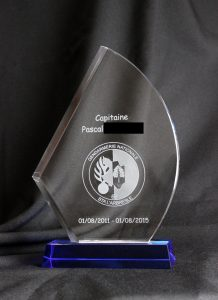 trophée gendarmerie 316983